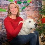 Missy with Dog